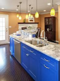 Paint Color Ideas For Kitchen With Oak Cabinets Blue Kitchen Walls Kitchen Cabinet Paint Ideas Colors Kitchen