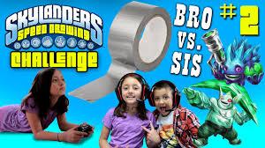 skylanders speed drawing challenge part 2 return of duct tape