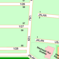map usj 1 map of jalan usj 1 2b