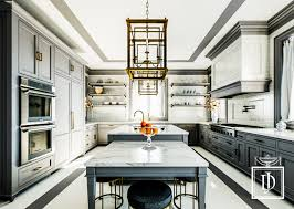 classic gray and calacatta marble kitchen with simply elegant