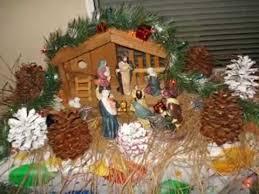 christmas crib decorating ideas youtube