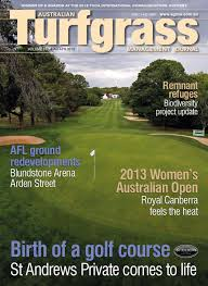 australian turfgrass management journal volume 15 2 march april