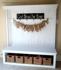 Modern Entryway Benches Decorating Modern Entryway Bench With White Cabinet And Small