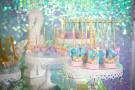 Mermaid Decorations For Party Kara U0027s Party Ideas Mermaid Cove Birthday Party Kara U0027s Party Ideas