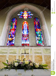 wedding arches ireland wedding set up in church ireland stock photo image 43885283