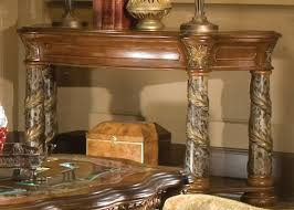 Valencia Console Table Michael Amini Villa Valencia Console Table Reviews Wayfair