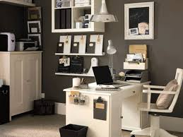 White Home Office Desks Office 5 Professional Office Decorating Ideas For Women White