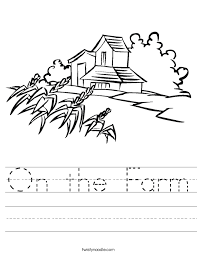 farm worksheet free worksheets library download and print