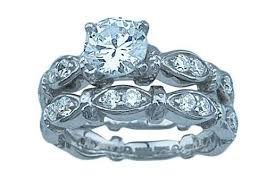 Wedding Rings Sets For Women by Cz Wedding Sets Cubic Zirconia Bridal Sets U2013 Laraso U0026 Co
