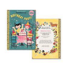 theme invitations book theme birthday invitation printable birthday party