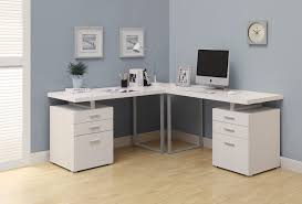 White Office Furniture Buy Computer Desk White L Shaped Corner Desk At Harvey U0026 Haley