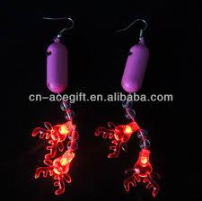 light up christmas earrings light up christmas earrings christmas novelty buy christmas