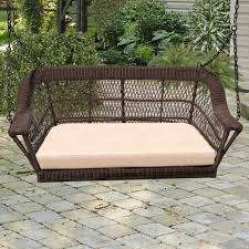 Inexpensive Wicker Patio Furniture - furniture north cape wicker manchester porch swing wickercentral