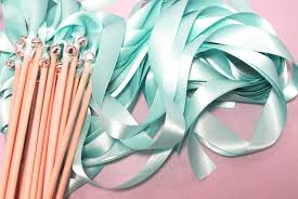 ribbon wands magical wedding ribbon wands your colors livingafairytale diy
