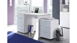 Schreibtisch Hochglanz Spice In Mdf Weiß Hochglanz 120 Cm