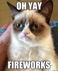 Fireworks Meme - oh yay fireworks cat meme cat planet cat planet