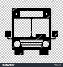 jeep transparent background bus sign flat style icon on stock illustration 384128764