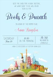 Baby Shower Invitations Bring A Book Instead Of Card 22 Baby Shower Invitation Wording Ideas
