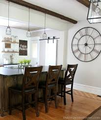 Country Kitchen Table And Chairs - diy farmhouse kitchen makeover all the details christinas