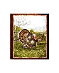bountiful blessings turkey 34 in panel green discount designer