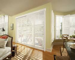 Bypass Shutters For Patio Doors Shutter Bypass Door J M Wheeler Window Coverings