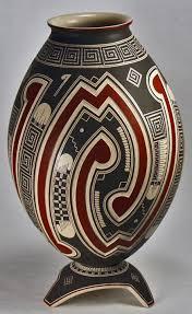 Mexican Pottery Vases Pottery Resurrection Mata Ortiz