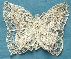 antique vintage brussels point de gaze lace butterfly ebay