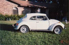 volkswagen white beetle vw super beetle convertible triple white