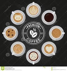 premium coffee cups americano latte espresso cappuccino