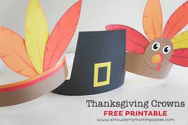 printable thanksgiving hats happy thanksgiving