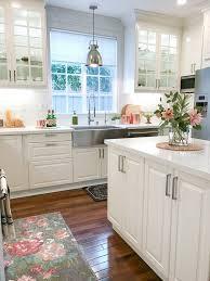 White Kitchen Ideas Pinterest Ikea White Modern Farmhouse Kitchen Kitchen Ideas For The