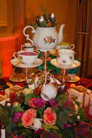 another tea party centerpiece from event treader u0027s go to www