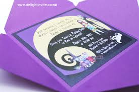 nightmare before christmas wedding invitations nightmare before christmas birthday invitations marialonghi