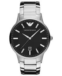 armani bracelet images Emporio armani watch men 39 s stainless steel bracelet 43mm ar2457 tif