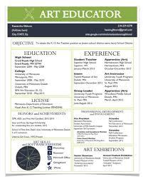 a resume for the modern art teacher teacher stuff pinterest