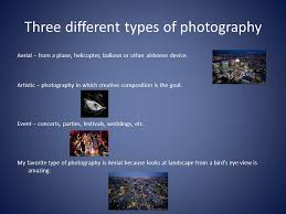 Types Of Photography Digital Photography Activity 3 Jose Garcia What Are The Different