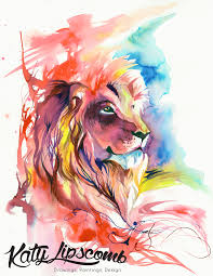 lion print lion splash print katy lipscomb online store powered by storenvy