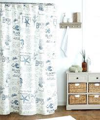 beach themed bathroom shower curtains interesting beach inspired