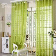 Custom Sheer Drapes Elegant Contemporary Light Green Custom Sheer Curtain Beddinginn Com