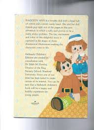 raggedy ann and the daffy taffy pull by dean walley illust by