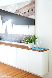 diy kitchen sideboard modern dining room with large art and
