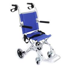 ambulance plus transfer chair lightweight travel chair
