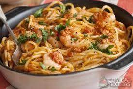 livre de cuisine portugaise receita de espaguete com camarão recette livre de cuisine