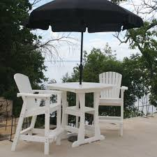 Bar Height Patio Dining Sets - bar height adirondack dining chair dfohome