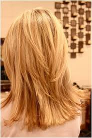 images of blonde layered haircuts from the back choppy layered hairstyles blunt medium haircut popular haircuts