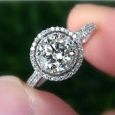 3 engagement ring carat engagement rings 3 karat engagement