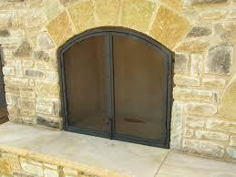 fire screens iron