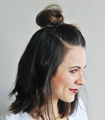 7 cool and easy buns that work for hair byrdie