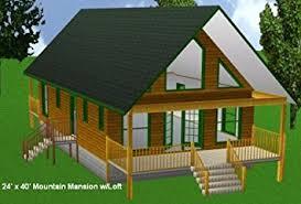 x32 cabin w loft plans package blueprints material list 24x40 cabin w loft plans package blueprints material