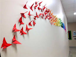 wall decoration ideas with paper ash999 info